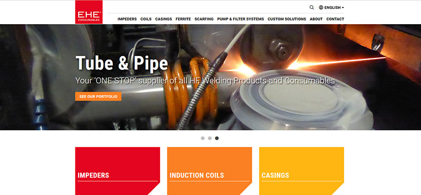 EHE Consumables website