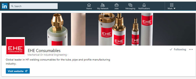 EHE Consumables on LinkedIn