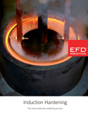 Induction heating for hardening and tempering
