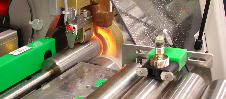 Induction heating - Hardening of bars and shaft