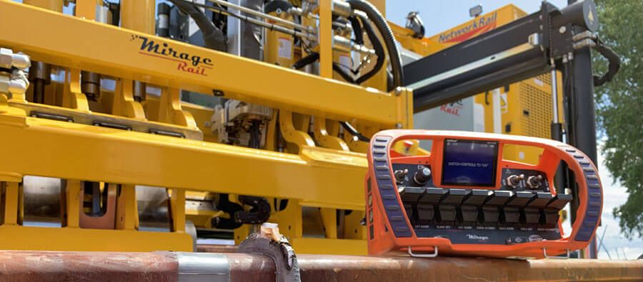Le soudage de rails avec le Rail Welding Induction Mirage