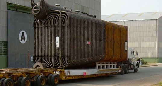 Tube boiler extraction